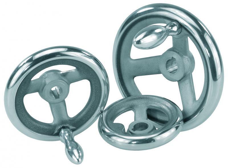 Handräder - Handräder dienen dem Positionieren und Justieren von Wellen und Spindeln