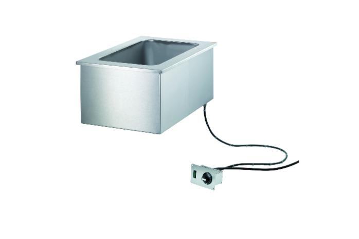 Built-in Bain-marie - Filling by hand