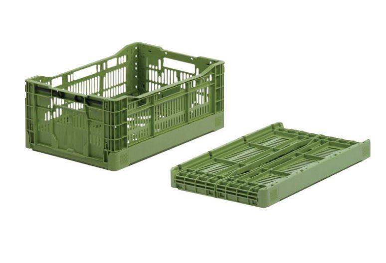Collapsible Box: Agri - Collapsible Box: Agri, 600 x 400 x 230 mm