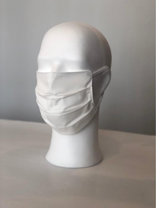 Schutzmaske - Gesichtsmaske aus reiner weißer Baumwolle