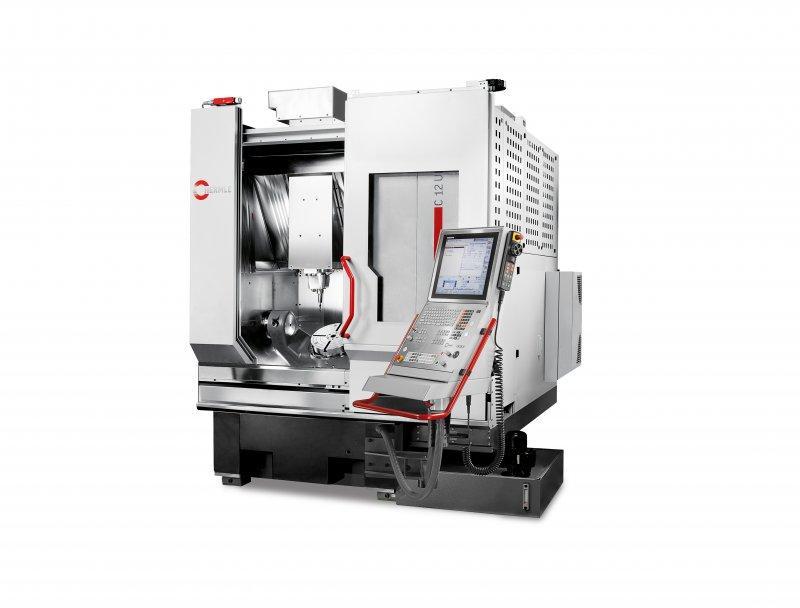 Bearbeitungszentrum C 12 - Kleine Aufstellfläche-maximale Effizienz: Das kompakte Bearbeitungszentrum C 12