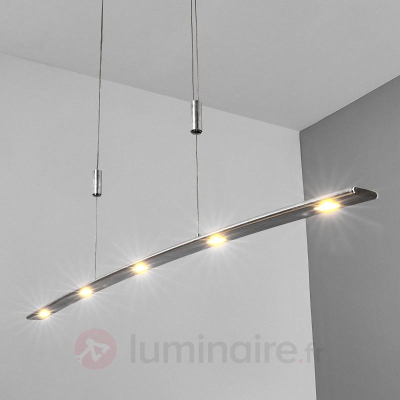 Finition argent chic - var. Suspension LED Gina - Suspensions LED