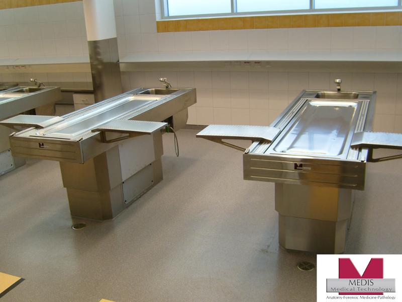 Autopsy Table for obese corpses - MA-3508