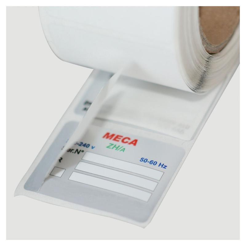 Étiquettes à rabat - Étiquettes industrielles