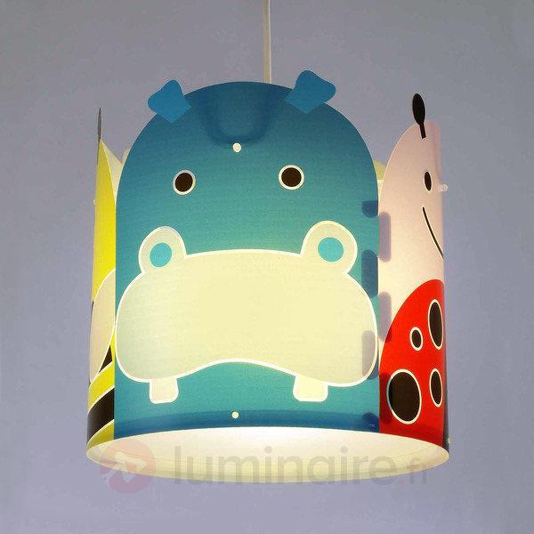Suspension Big Friends avec motif animaux - Chambre d'enfant