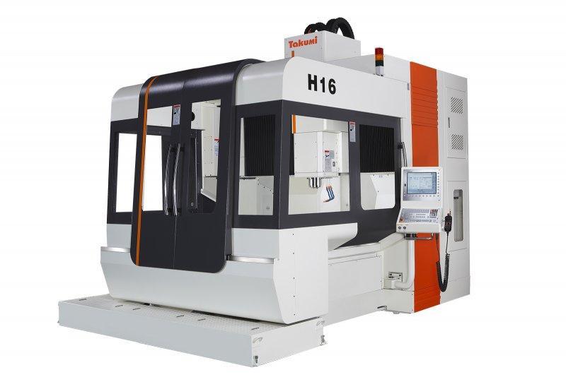 3-Achs-Bearbeitungszentrum - H16 - 3-Achs-Bearbeitungszentrum zum Werkzeug- u. Formenbau, H16, Takumi