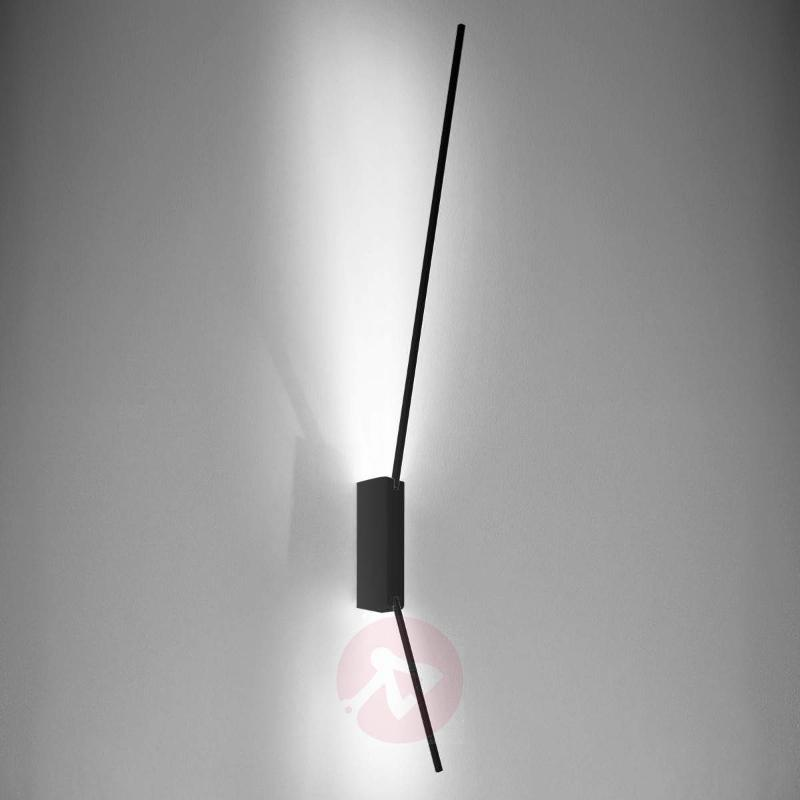 Minimalist Spillo LED wall light, 60 cm - Wall Lights