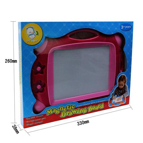 Pink magnetic drawing board - Wishtime Doodle Sketch Learning Toy