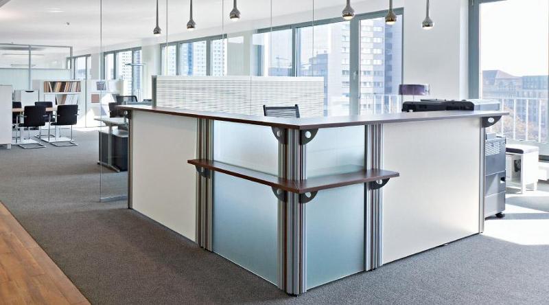 Reception area furniture - VisitASS