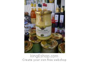 Moutarde de Dijon au Poivre Vert - Référence : YMDFPV