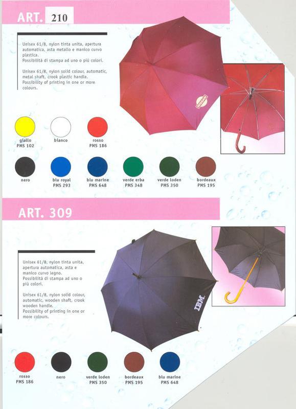 Parapluies longs - 210 AUTOMATIQUE POIGNEE PLASTIQUE