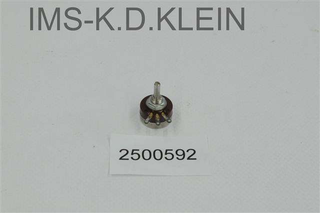POTENTIONMETER RV16YN 500 M10/9 - S-2500592