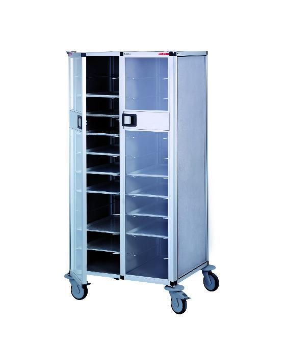 Tray trolley RTW  - with doors