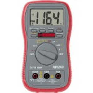 Multimètre numérique multifonctions - incluant la mesure μA + la mesure de température.