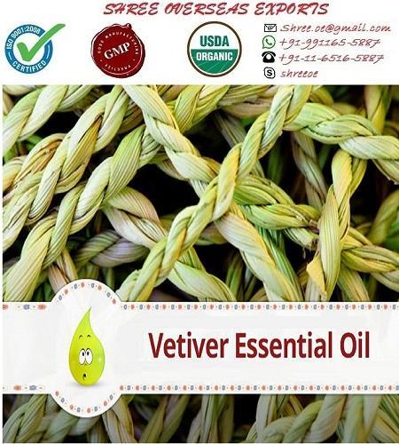 Organic Vetiver Oil - USDA Organic