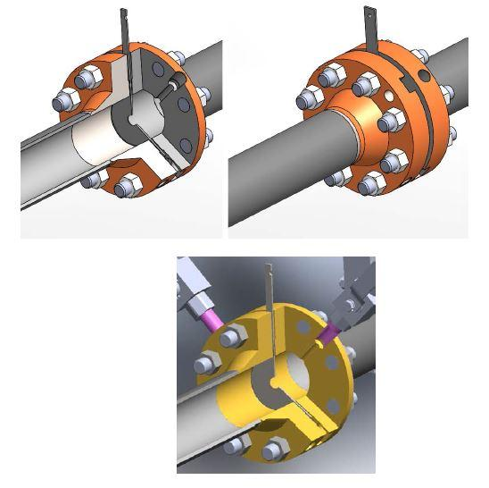25/25 flowmeter - flange tap flowmeter