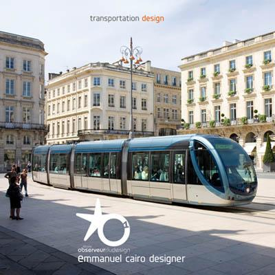Design transport, tramway