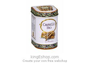 Cannelle Bio en Poudre 100% boite métal - Référence : 0CBBM