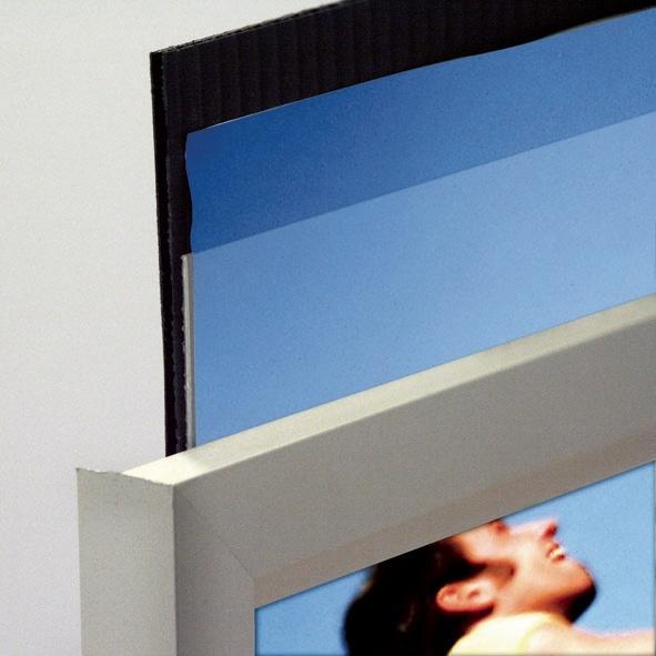 Slide-In Frames - Cadre une face ouverture latérale