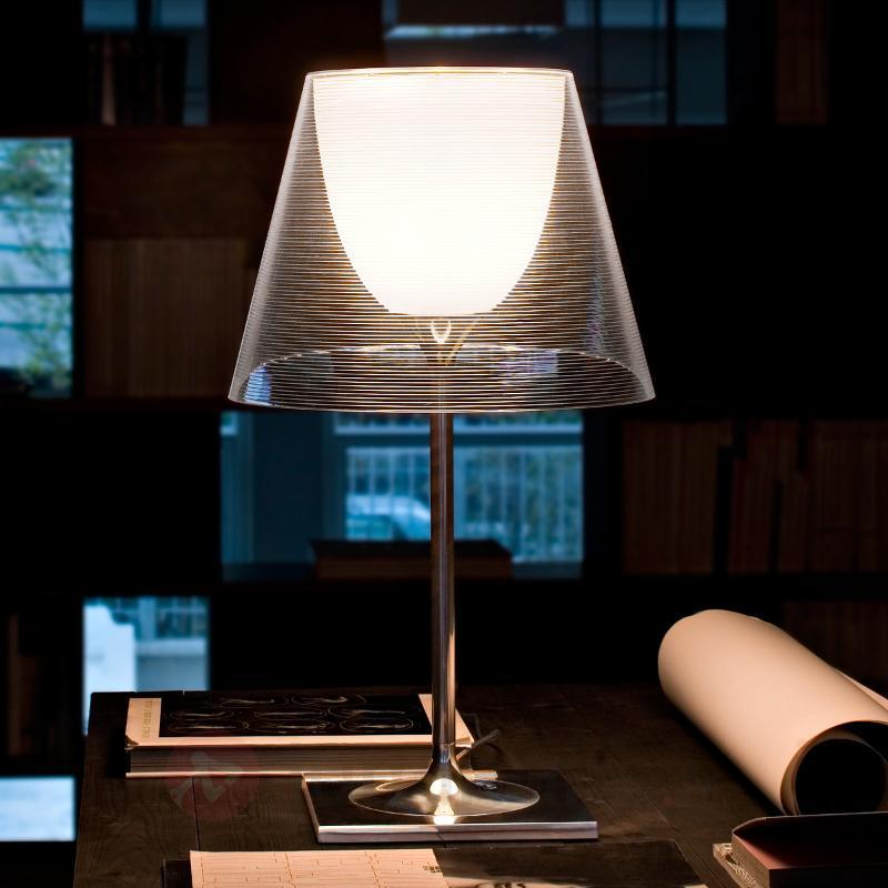 Lampe à poser KTRIBE T2 avec double abat-jour - Lampes à poser designs