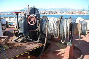 BOWL WINCH - BOWL WINCH STARBOARD