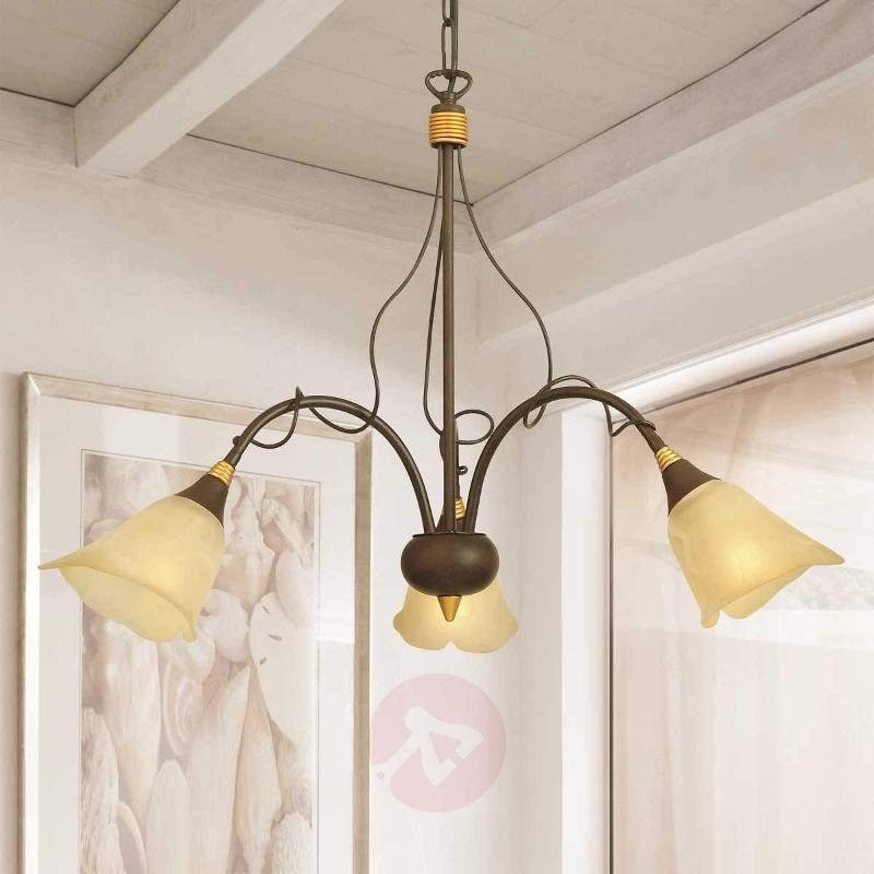 Hanging light Matteo in the country house style - Pendant Lighting
