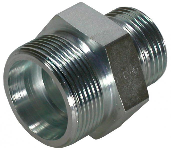 "DST-R 1""-60°/S20-24° adapter - Steel"