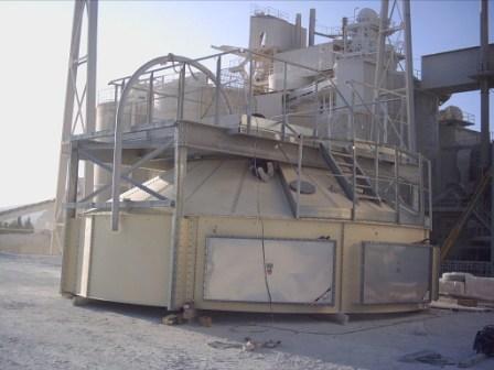 Prémontage d'un toit protégé contre l'explosion