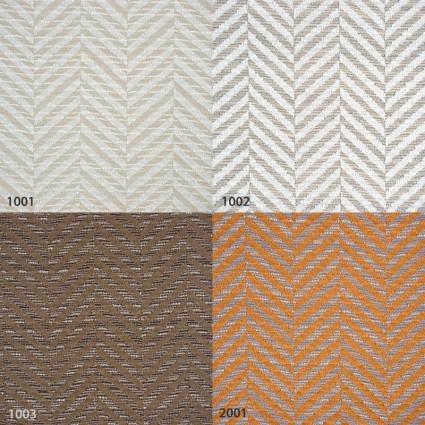 coussins plaids et chemins de lit paire de coussins rectangulaires 45 70cm motif chevron lamy. Black Bedroom Furniture Sets. Home Design Ideas