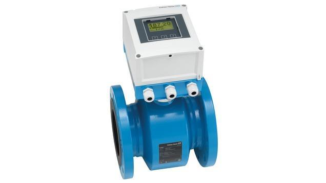 debit mesure produits - debitmetre electromagnetique promag W 800