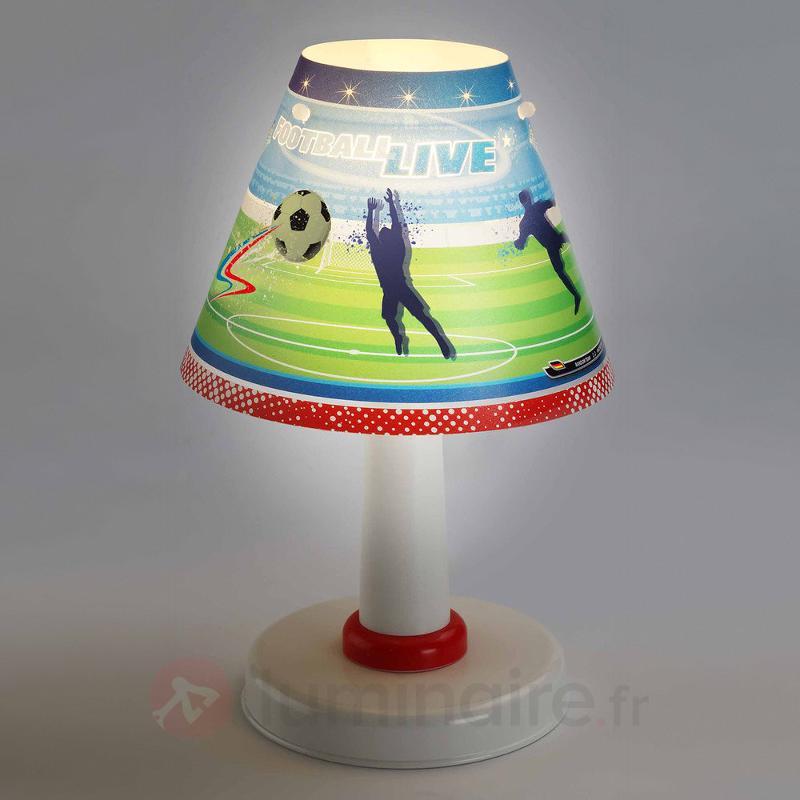 Lampe à poser Football pour chambre d'enfant - Chambre d'enfant