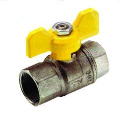 Rubinetto arresto metano a sfera FF - Tubi Gas & Articoli Gas