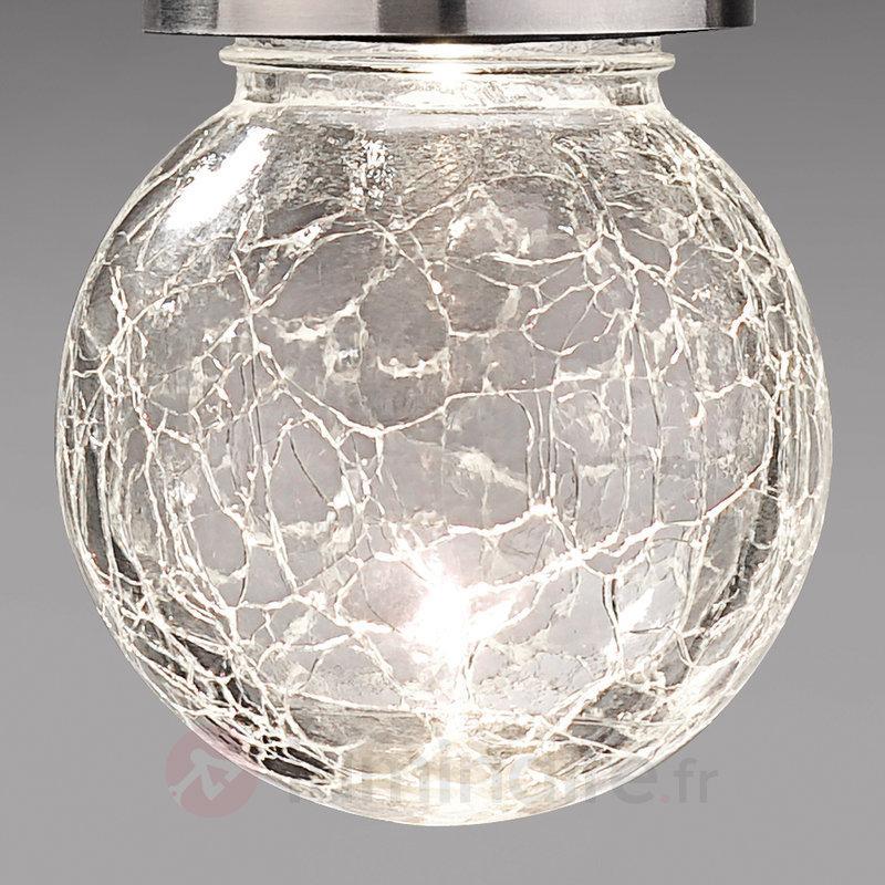 Belle lampe décorative solaire ronde - Lampes solaires décoratives