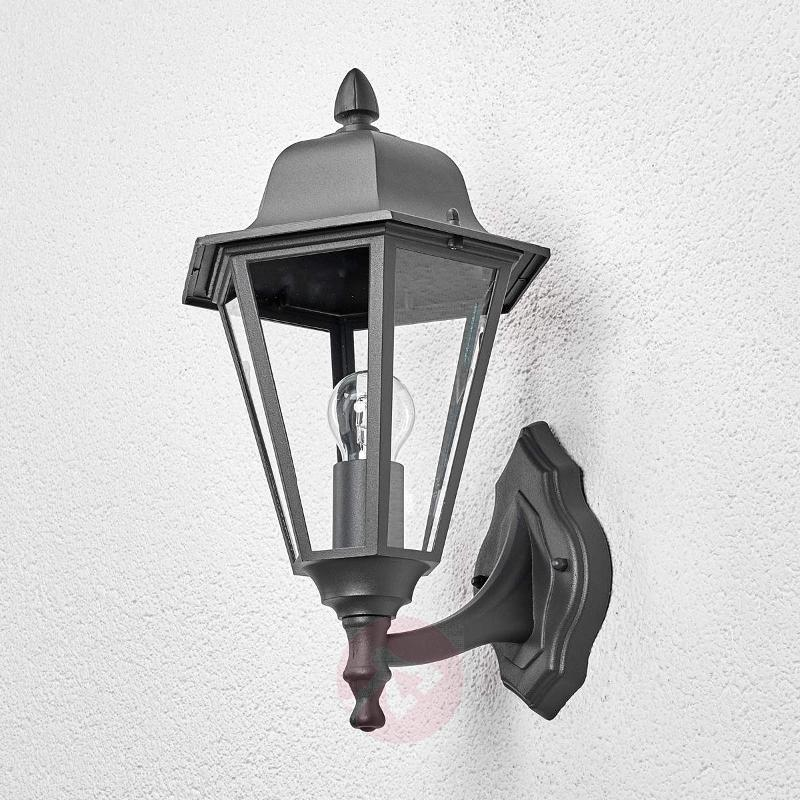 Edana - outdoor wall light in graphite grey - Outdoor Wall Lights