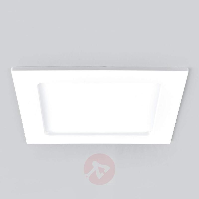 Discreet LED recessed spotlight Feva, 10.5 W - Recessed Spotlights