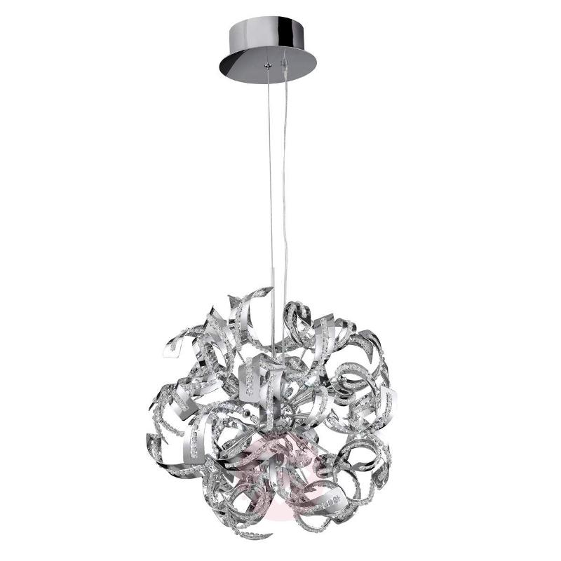 Brilliant Sparkles pendant lamp with crystals - Pendant Lighting