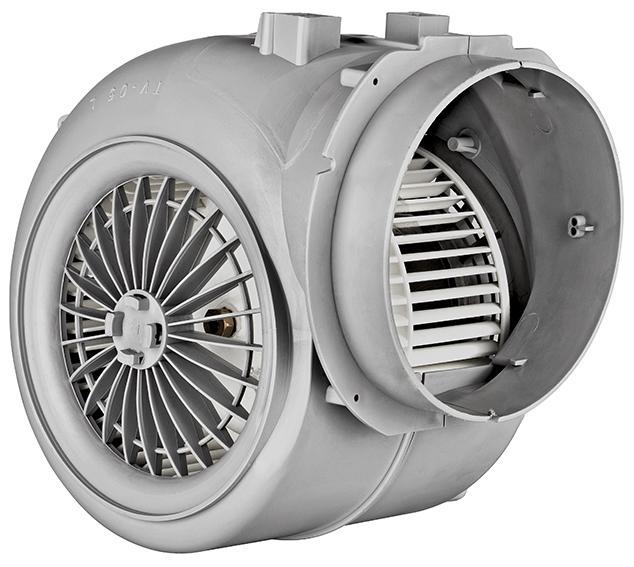 BPS-B 150 - 100 - Radialventilator aus Kunststoff mit Doppelansaugung