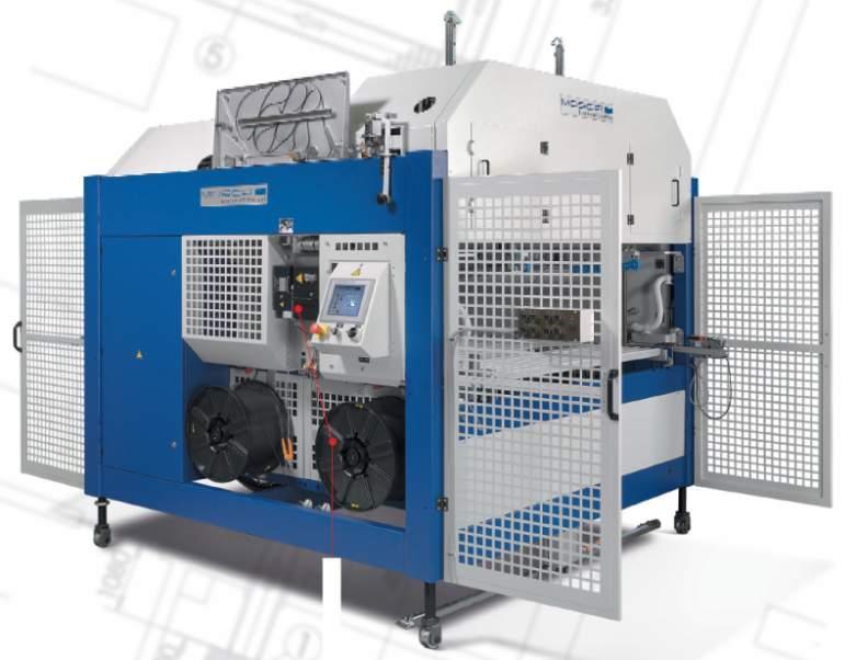 UATRI-2 XT - Máquina flejadora completamente automática en línea