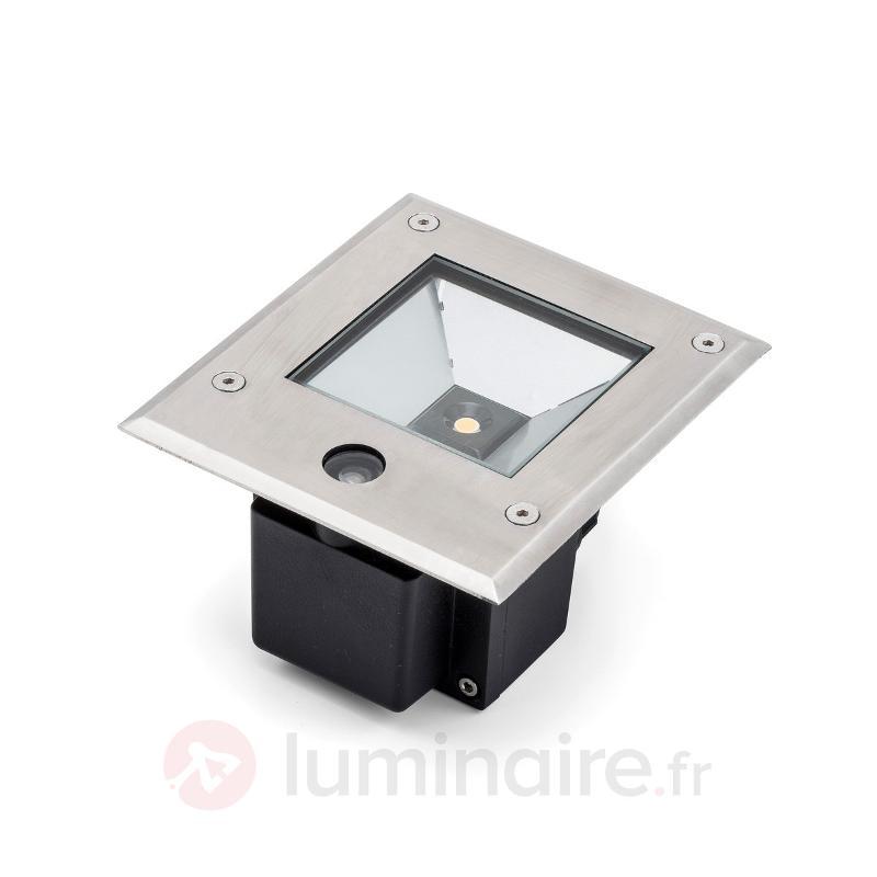 Dale spot de sol LED 6 W capteur crépusculaire - Luminaires LED encastrés au sol