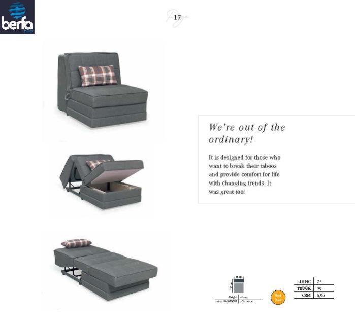 Sovekabine sofa Barista - Søvn sofa producenter