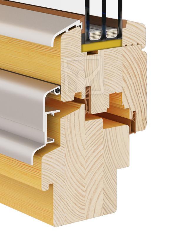 Eco Soft-line (Fenster Holz 68|78|92) -