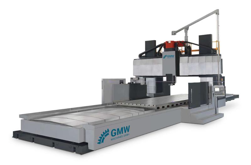 MC with movable table / GRV series - Double Gantry Boring Machines