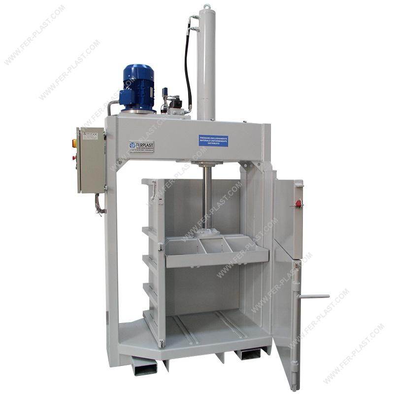 Hydraulic Press FP25CS - Packaging: equipment and materials