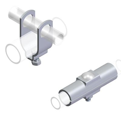 Fasteners for agricultural factories - Pipe connectors for agricultural factories