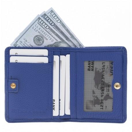 Fabio Woman Wallet FLB Series - FW FLB11 Sax Blue