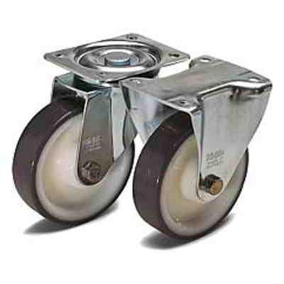 Roulette pivotante ou fixe modèle standard - Roues et galets