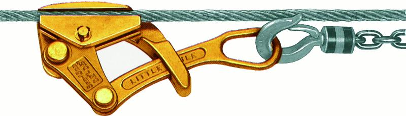 Tire-câbles - Pince tire-câble LITTLE MULE YALE - type LMG