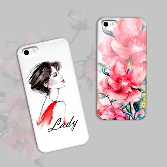 Чехлы для смартфонов - Дизайнерские принты для смартфонов на заказ с художественными мотивами