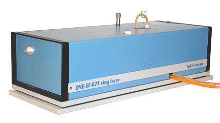 DYE-SF-077 - Durchstimmbarer Einfrequenz-Farbstofflaser mit Linienstabilisierung.