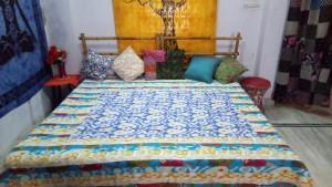 Kantha  reversible quilts  - Kantha bedcover